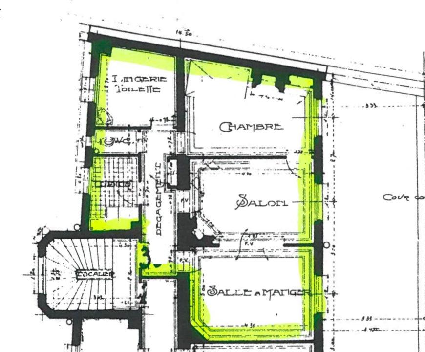 Porte de Versailles – Location 3 Pièces 49 m²