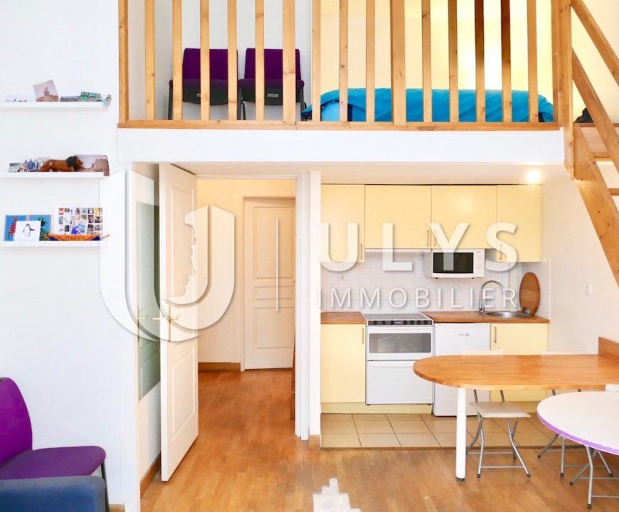 Marignan – Studio avec Mezzanine, 33 m²