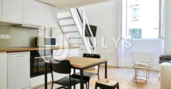Montaigne – Studio Meublé avec Mezzanine, 33 m²