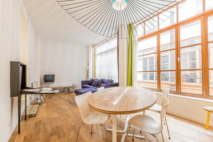 Passage du Grand Cerf, Appartement 2 Pièces 44 m²