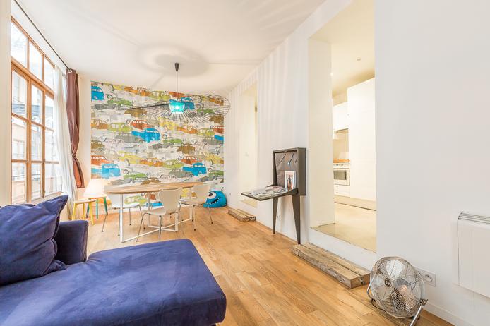 Etienne Marcel, Appartement avec Commercialité, 2 Pièces, 44 m²