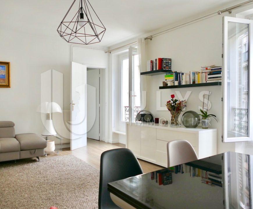 Ternes – Appartement 3/4 Pièces, 70 m² traversant