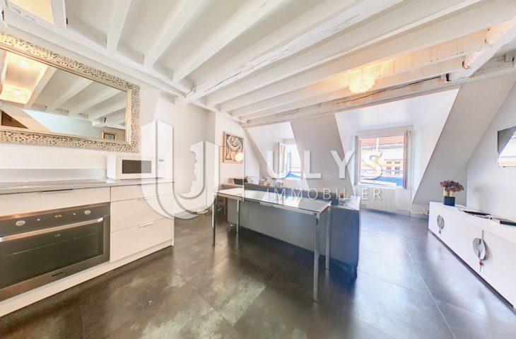 Rue des Rosiers – Appartement 45 m², dernier étage