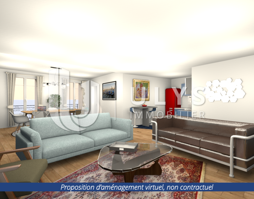 Etienne Marcel – Bel Appartement 2/4 Pièces 106 m²