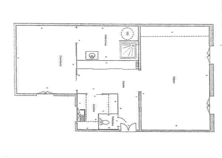 Victor Hugo – Charmant Appartement 2 Pièces 49,4 m²